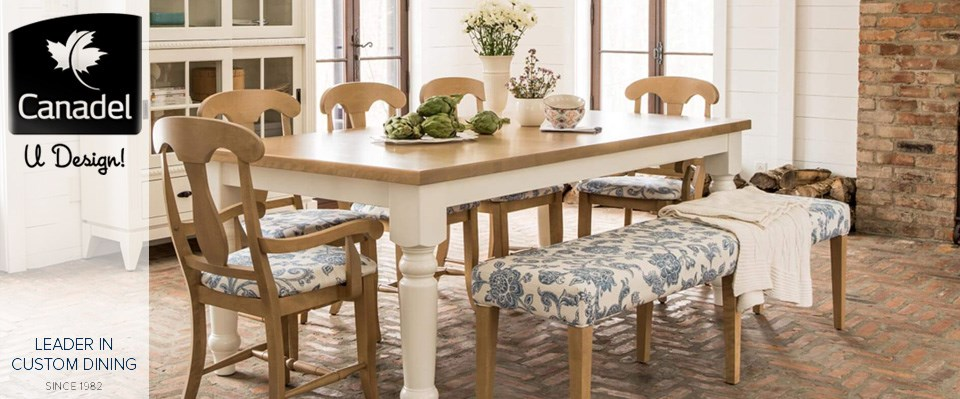 Canadel Custom Dining Furniture At Zaks Home