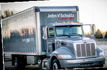 Store to Door Delivery Truck
