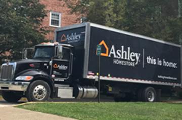 White Glove Delivery Truck