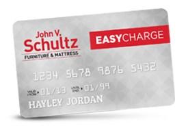 John V. Schultz Credit Card