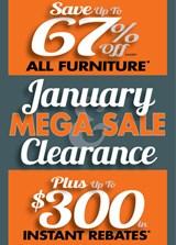 January Clearance Mega Sale!