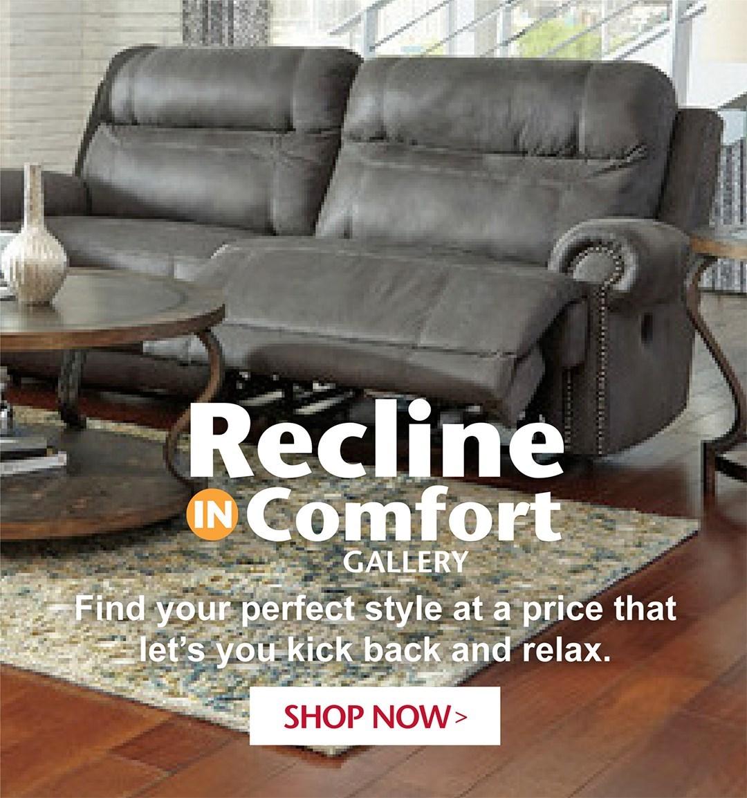 Recline in comfort
