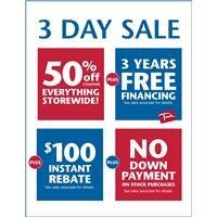 June 3 Day Sale