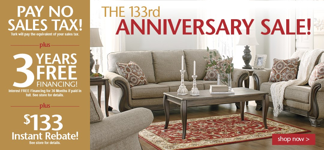 133 Anniversary sale -WK#1