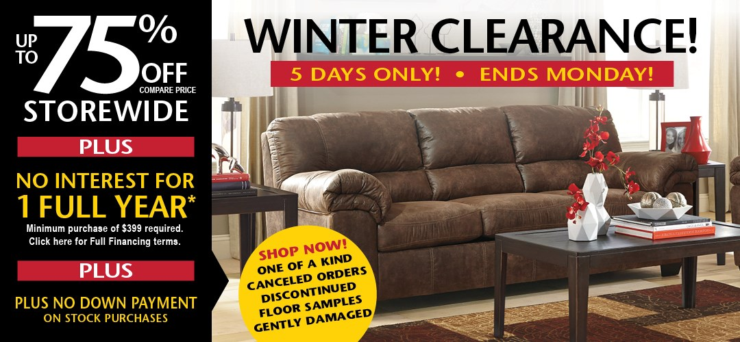 Winter Clearance 2020