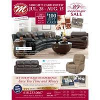 89th Anniversary Sale