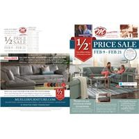 1/2 price sale