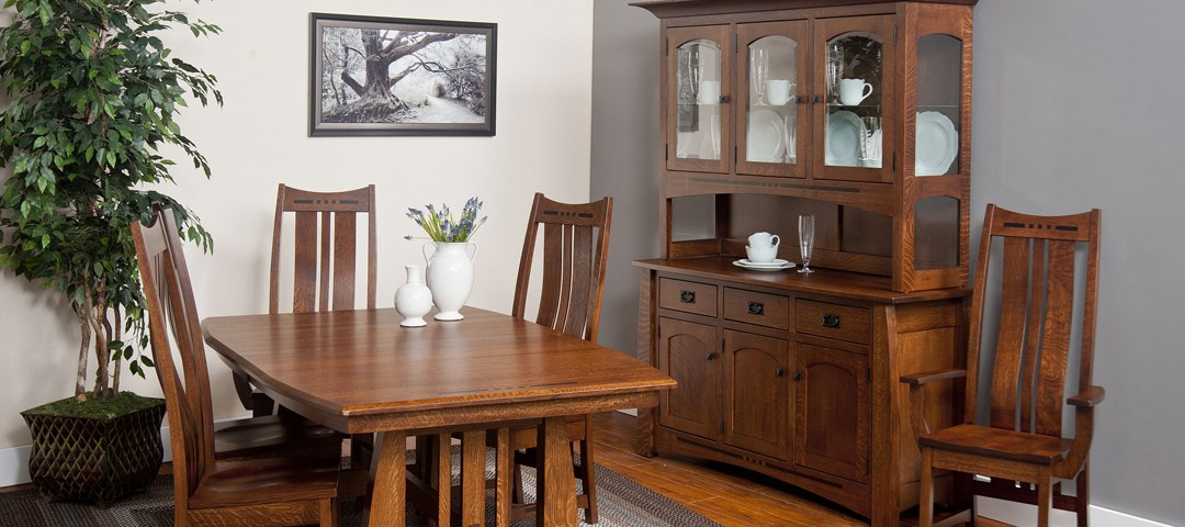 Hayworth Dining Set with Buffet and Hutch