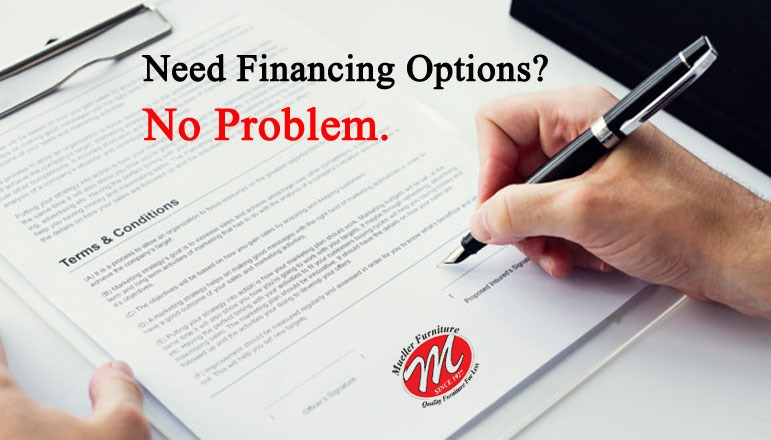 Need Financing Options? No Problem