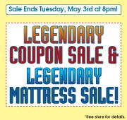 Legendary Coupon Sale
