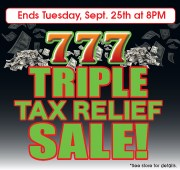 Triple Tax Relief Sale