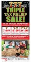 Triple Tax Relief Sale