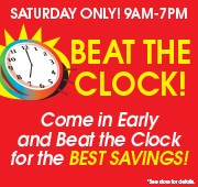 Easter Beat The Clock Sale
