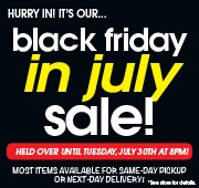 Black Friday in July - Held Over