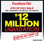 $12 Million Liquidation Sale