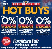 President's Day Hot Buys Sale