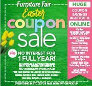 Easter Coupon Sale