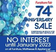 74th Anniversary Sale