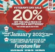 Veteran's Day Sale