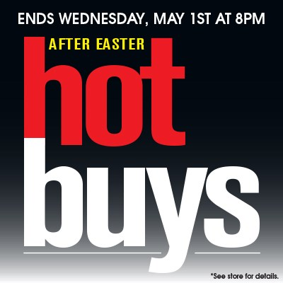 After Easter Hot Buys Sale