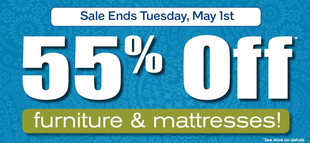 55% Off Sale