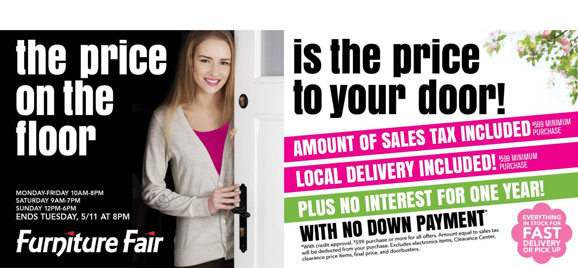 Floor To Door Sale
