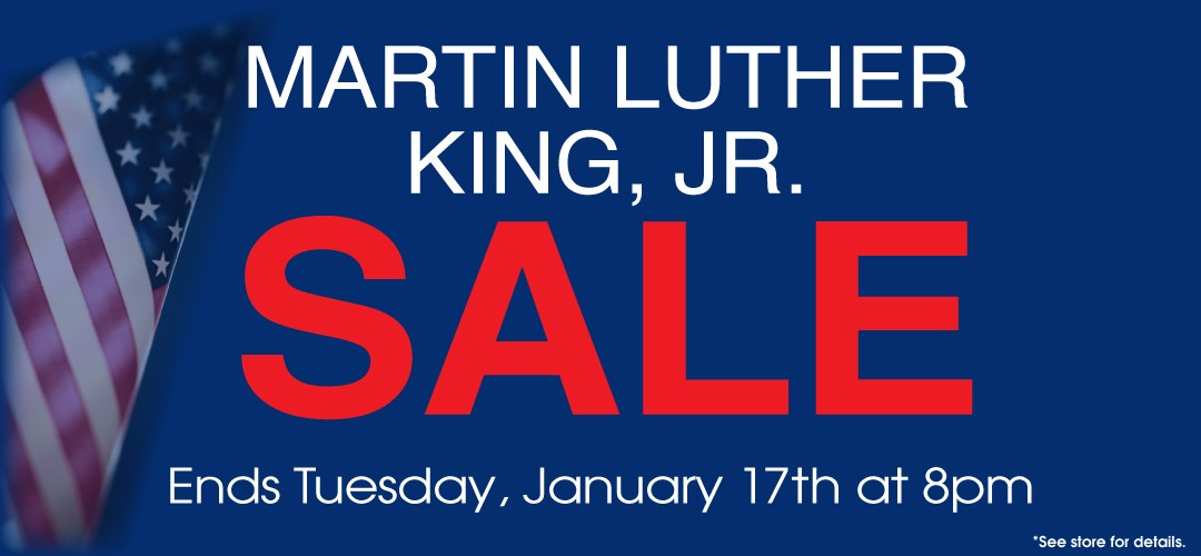 Martin Luther King, Jr Sale