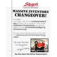 Inventory Changeover