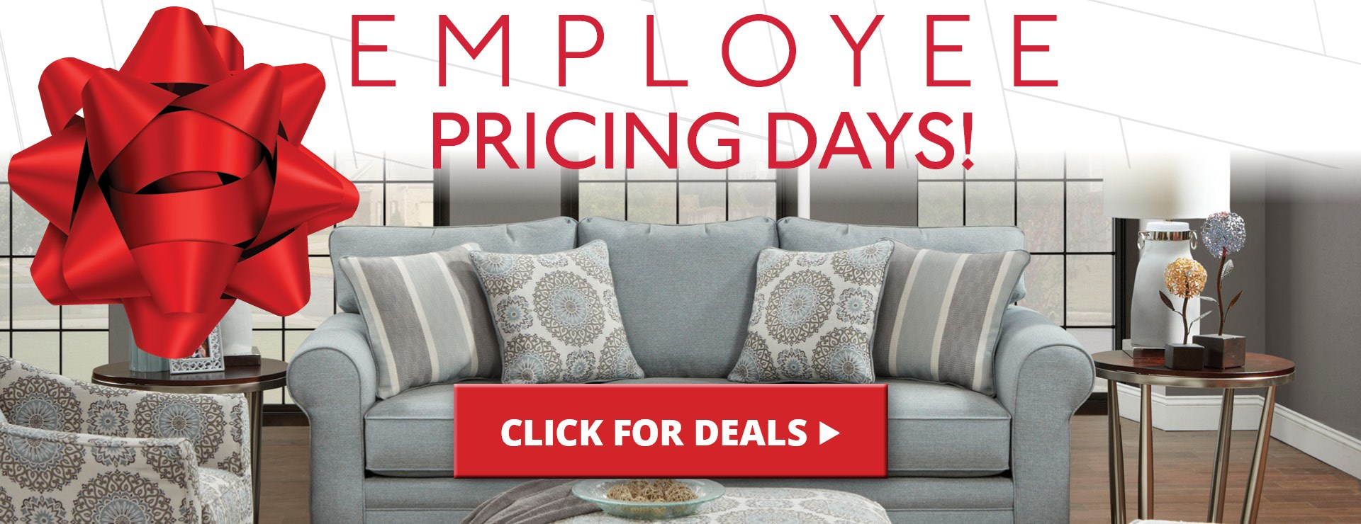 Employee Pricing Event