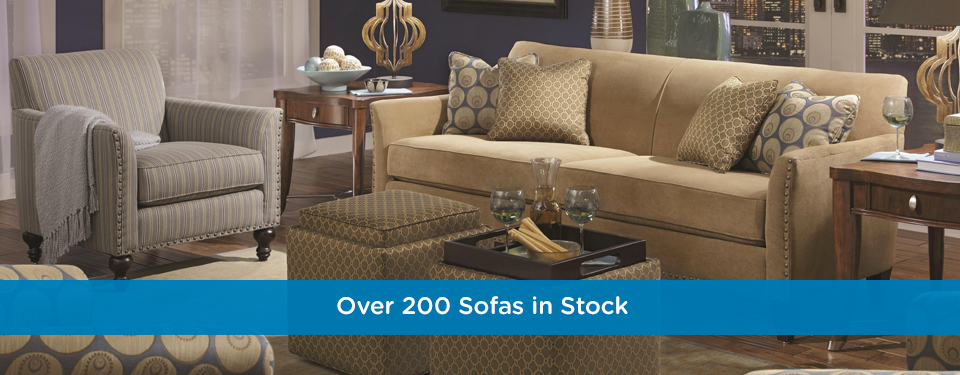 Large Inventory of Sofas