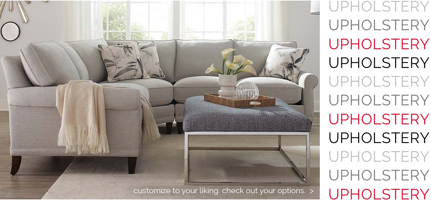 UPHOLSTERY, customize to your liking, check out your options