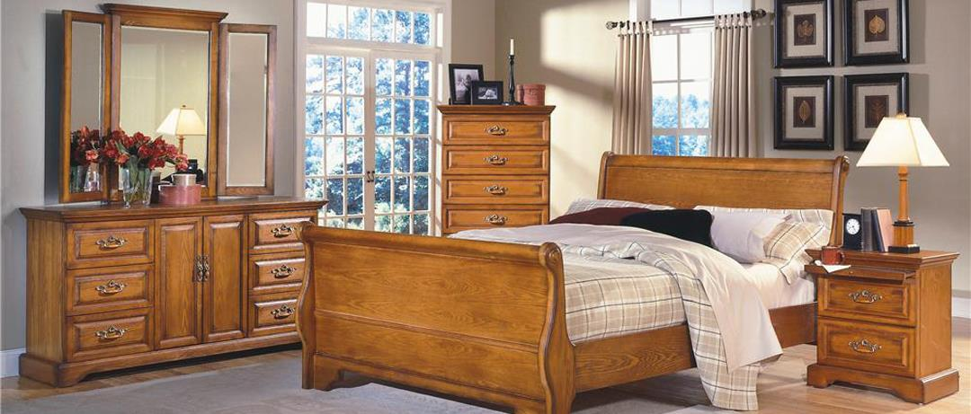 New Classic Wood Bedroom