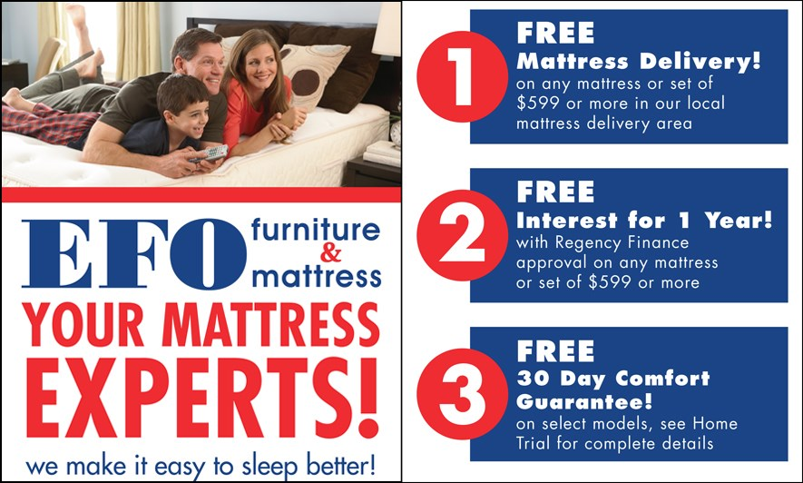 EFO is your mattress expert