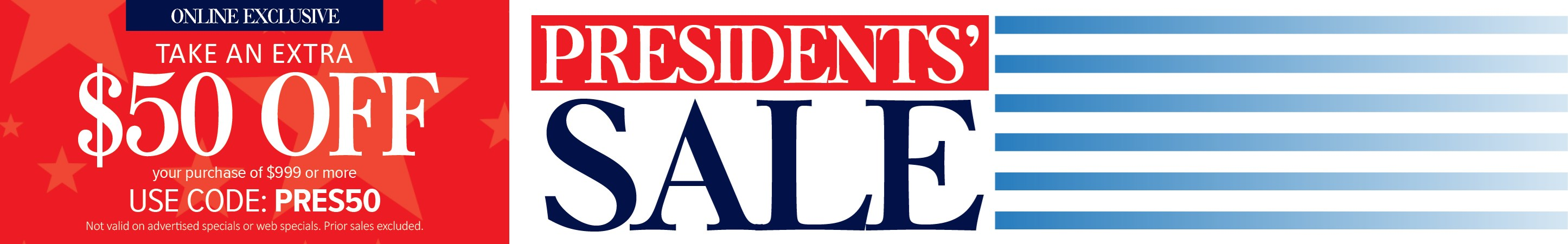 Presidents' Sale