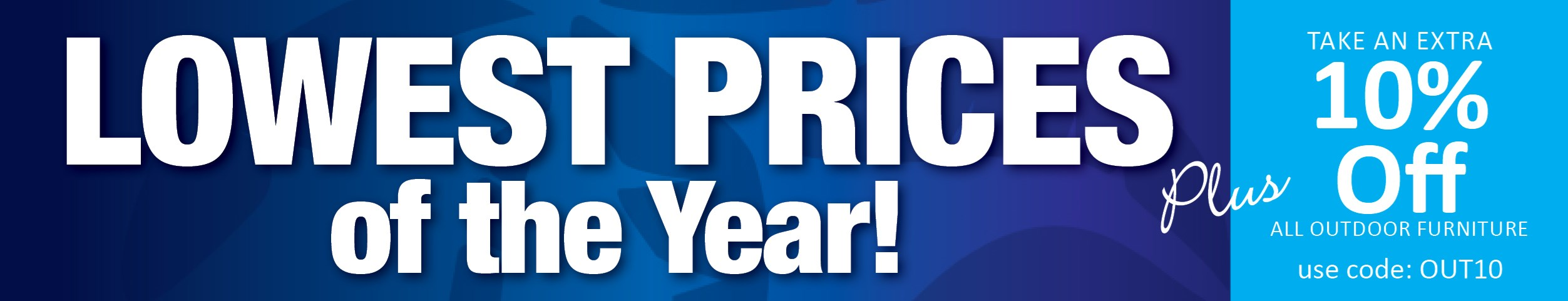 Lowest Prices of the Year