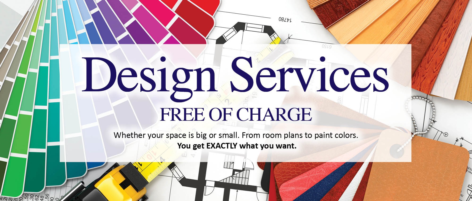 design services - completely FREE!