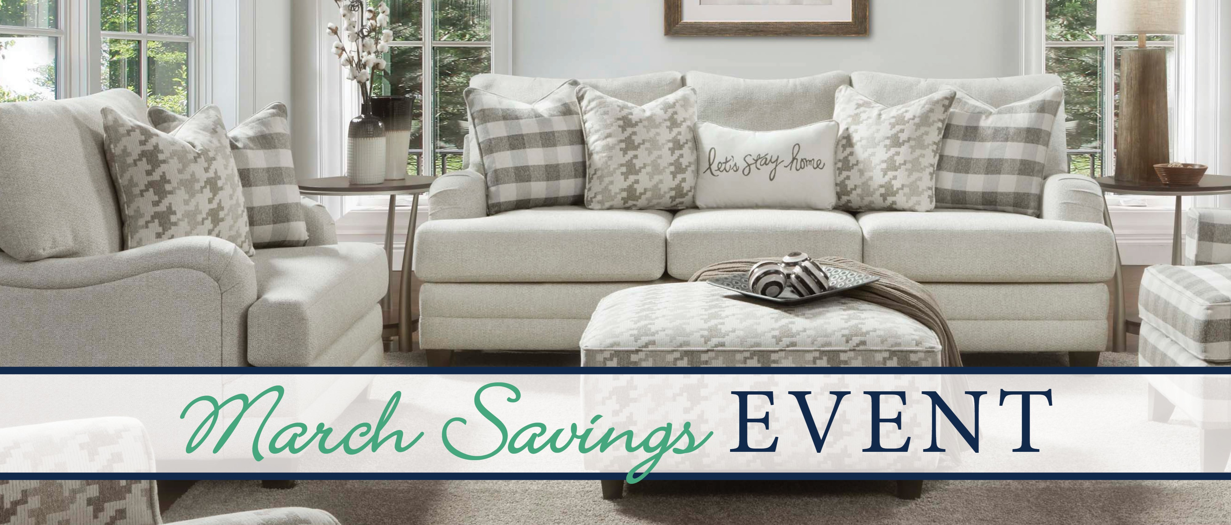 The Big March Savings Event