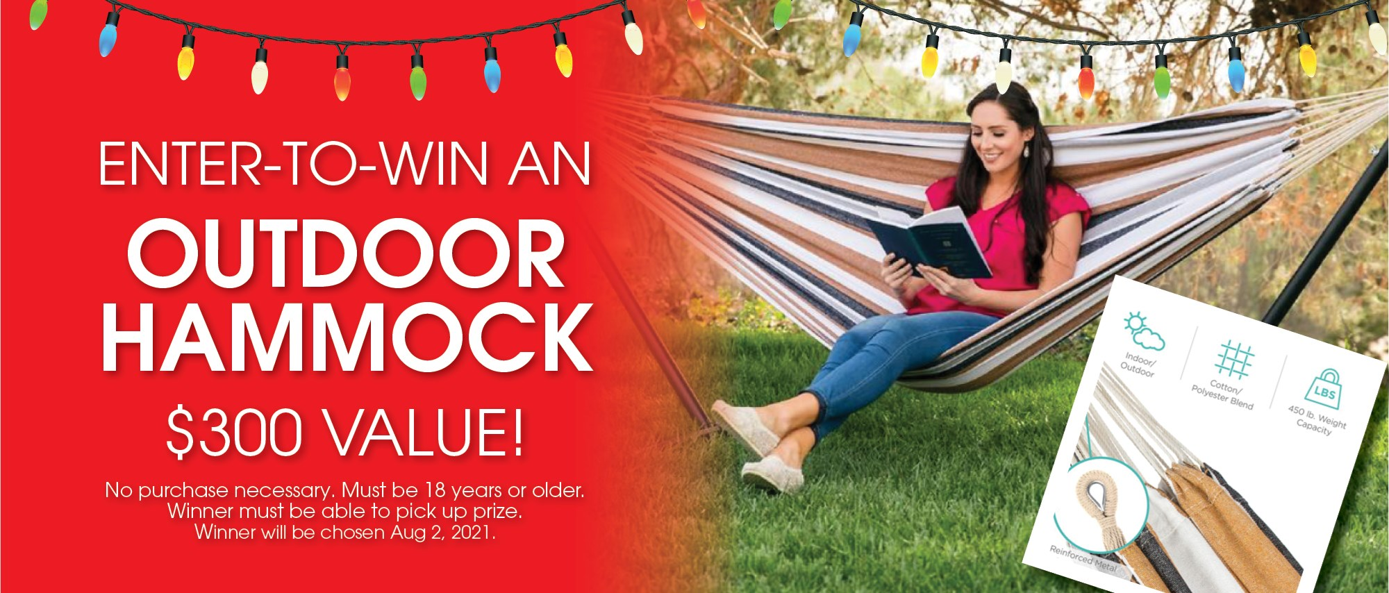 Enter to Win a Hammock