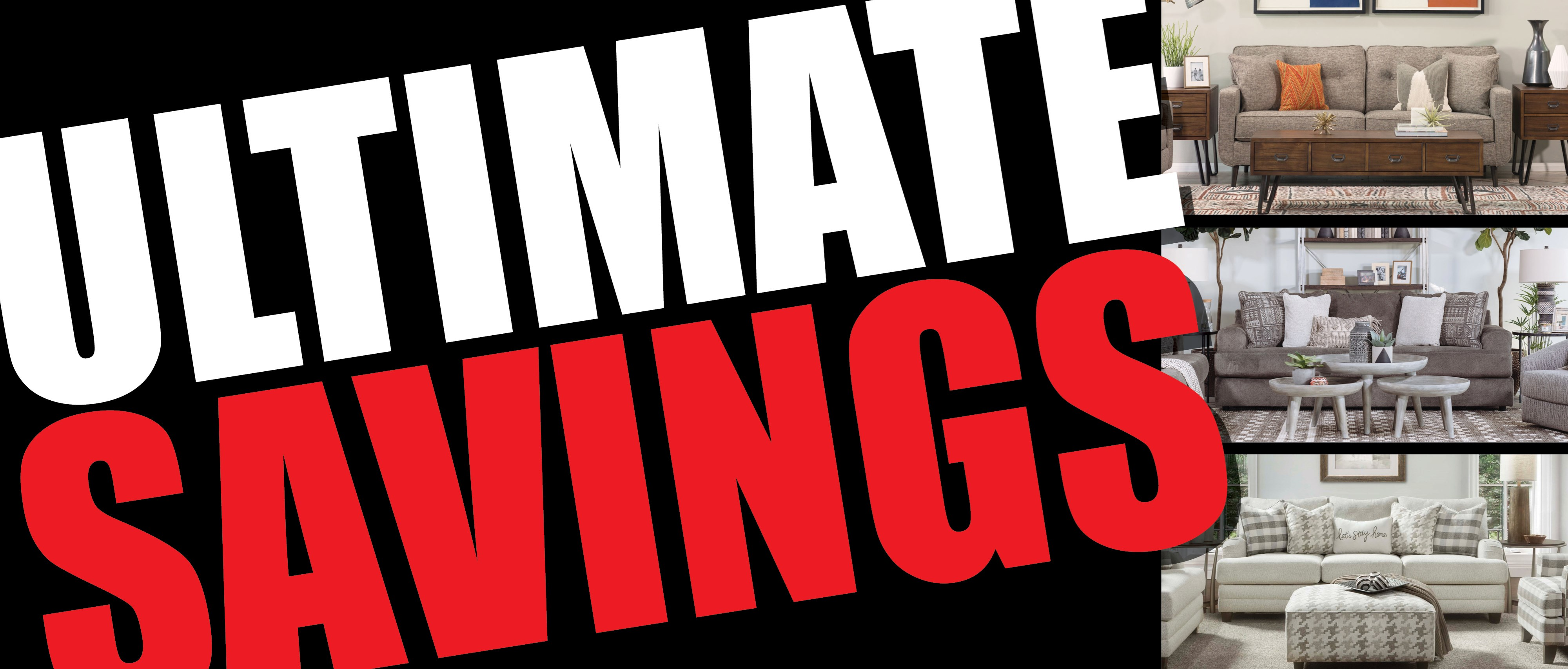 Ultimate Savings are going on now!