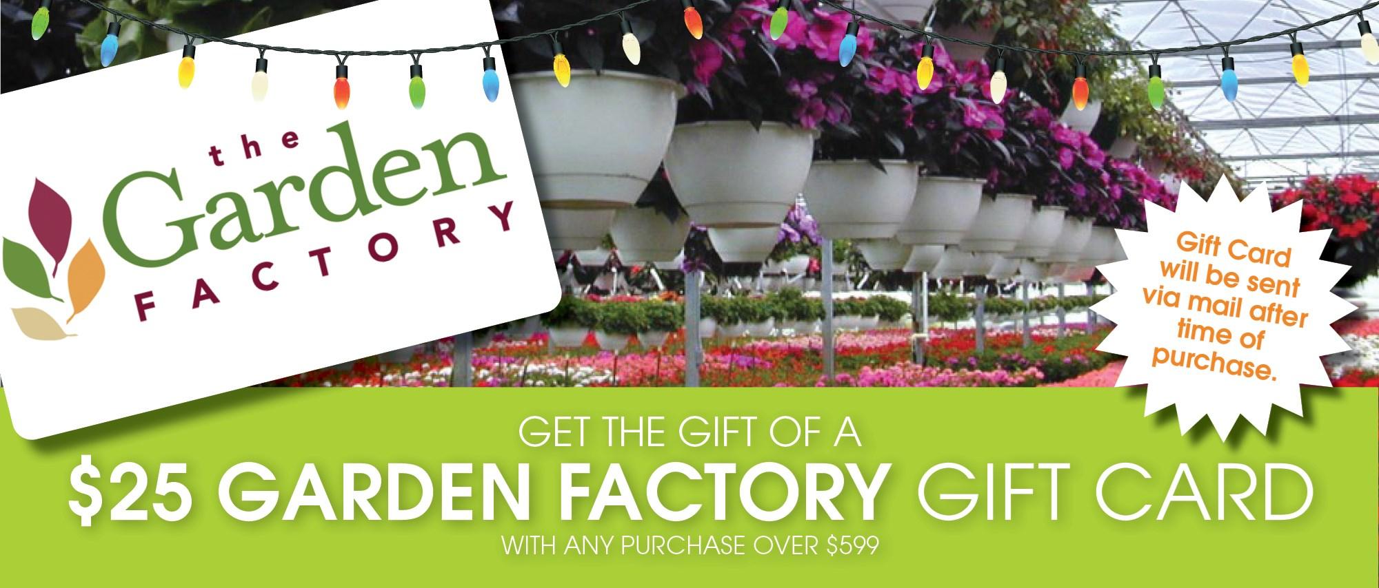 Garden Factory Gift Card