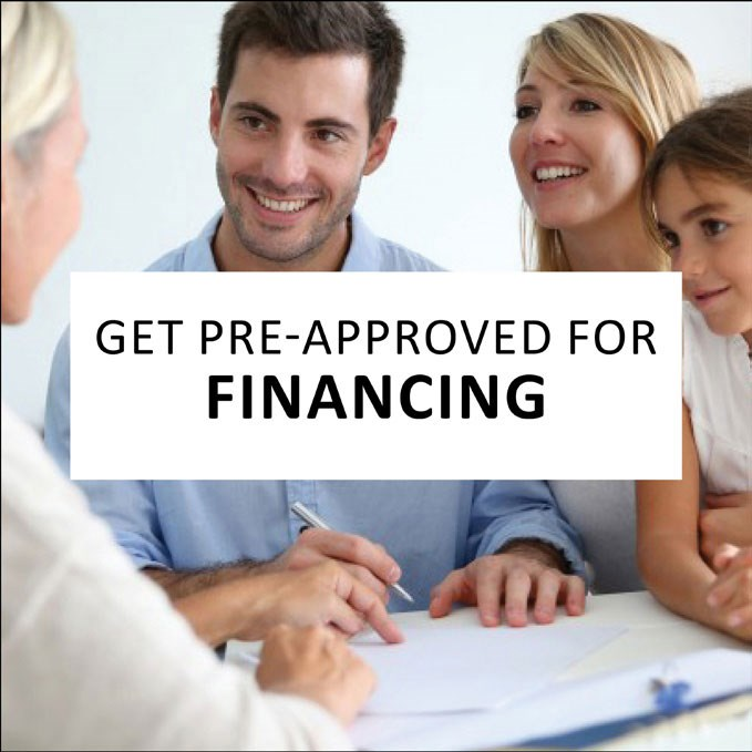 Get Pre Approved For Financing