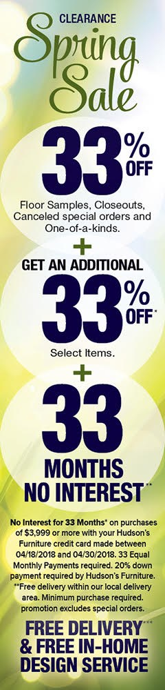 clearance spring sale - get an additional 33% off select items