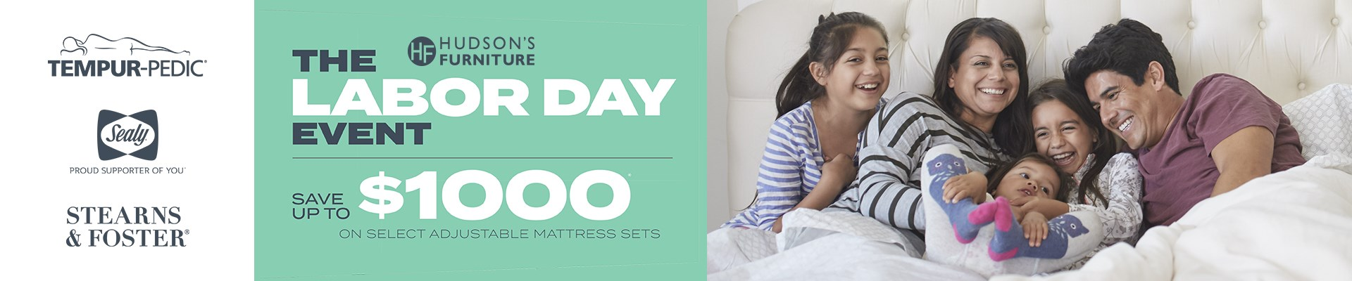 Tempur-Pedic® Labor Day Mattress Sale - Going On Now!
