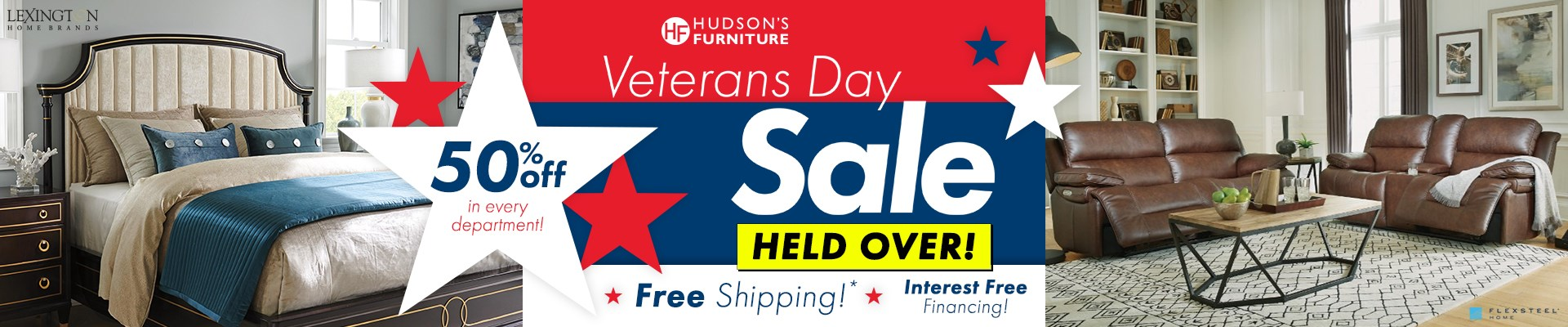 Vetrans Day Sale - Held Over - Save up to 50% on Select Products