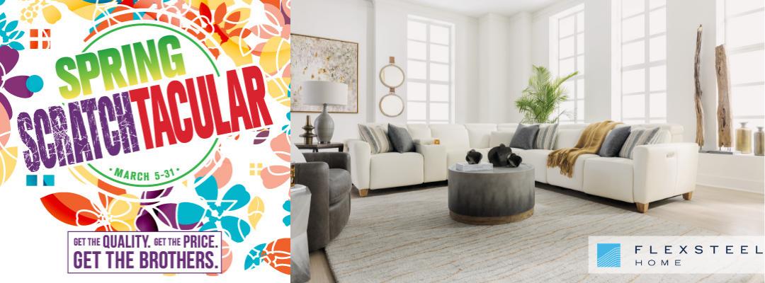 Spring Scratchtacular - Flexsteel Home