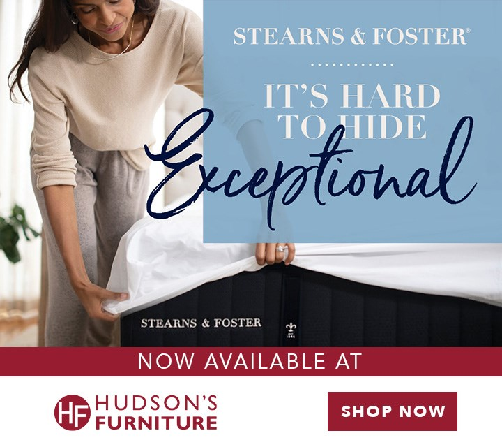 Stearns Foster Premium Mattress Now Available At Hudson S Furniture Florida