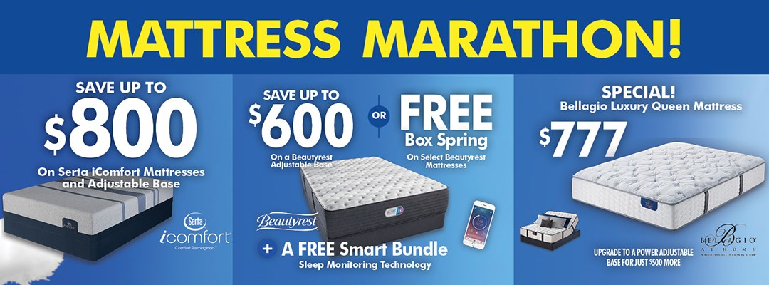 Mattress Marathon!