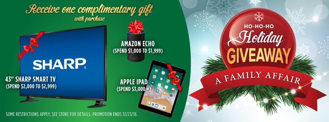 Ho-Ho-Ho Holiday Giveaway   A Family Affair