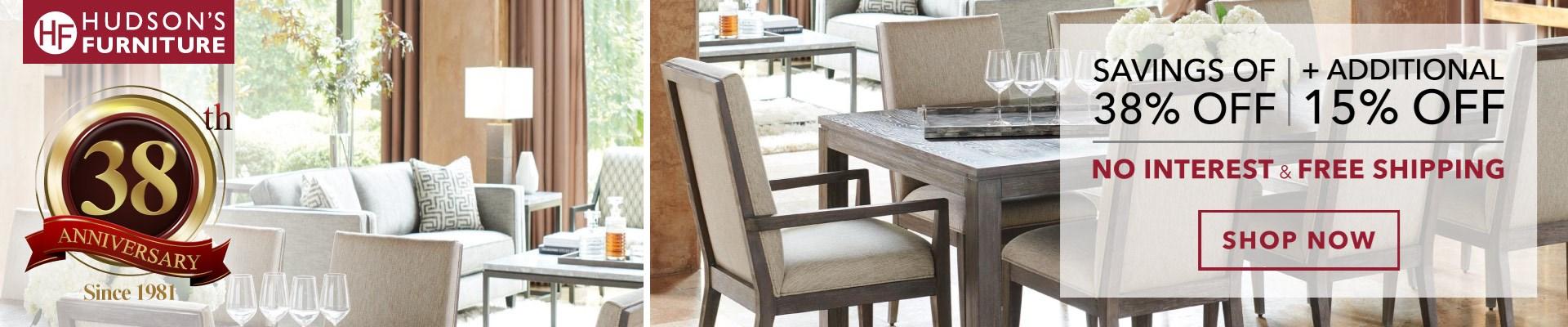 Hudson's Furniture Anniversary Sale