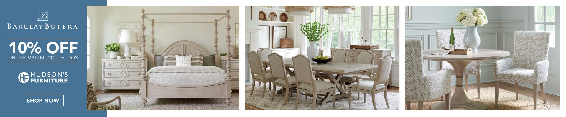 Malibu Collection Now Available At Hudson's Furniture